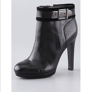 Tory Burch Belinda booties black leather